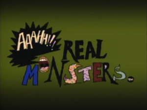 Aaahh! Real Monsters Title Card