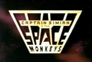 Captain Simian Title Card