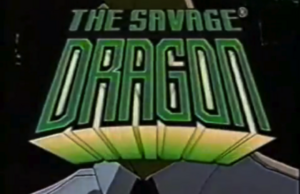The Savage Dragon Title Card