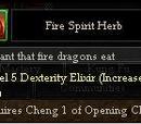 Fire Spirit Herb