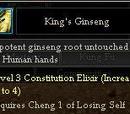 King's Ginseng