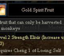 Gold Spirit Fruit