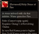 Reversed Holy Stone of Fire