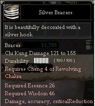Silver Bracers