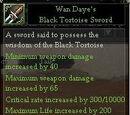 Wan Daye's Black Tortoise Sword