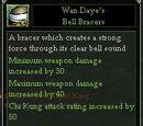 Wan Daye's Bell Bracers