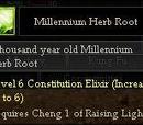Millenium Herb Root