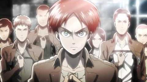 "Shingeki no Kyojin 進撃の巨人 OP Opening - ""Guren no Yumiya"" - Linked Horizon"