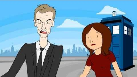 Peter Capaldi as the Doctor - Animated