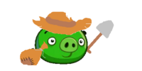 Archeologist Pig