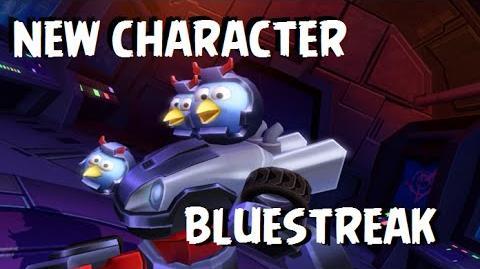Angry Birds Transformers - New Character Unlocked BLUESTREAK Gameplay + How to Unlock BLUESTREAK