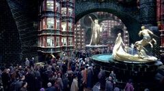 Ministry of Magic busy