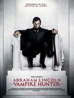 Abraham lincoln vampire hunter poster a p