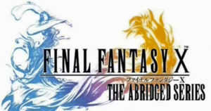 Final Fantasy X abridged title block