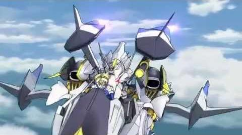 Cross Ange Tenshi to Ryuu no Rondo Opening OP クロスアンジュ 天使と竜の輪舞 ロンド Opening OP