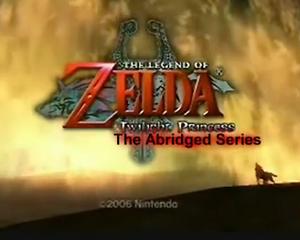 Twilight Princess Abridged (xanauzumaki) title block