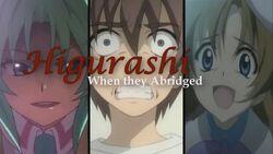 Higurashi When They Abridged Logo