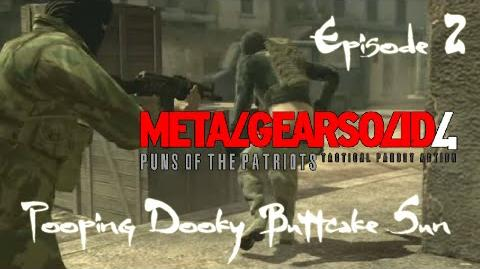 Metal Gear Solid 4- Puns of the Patriots (Episode 2)