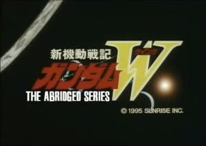 Gundam Wing Abridged Logo