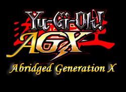 Yu-Gi-Oh AGX title block