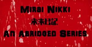 Mirai Nikki abridged title block