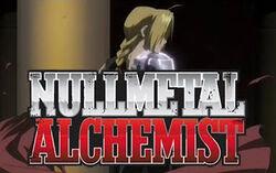 Nullmetal alchemist titleblock