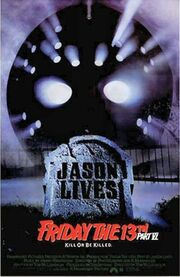 Friday the 13th Part VI - Jason Lives poster