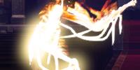 Burning Mummy