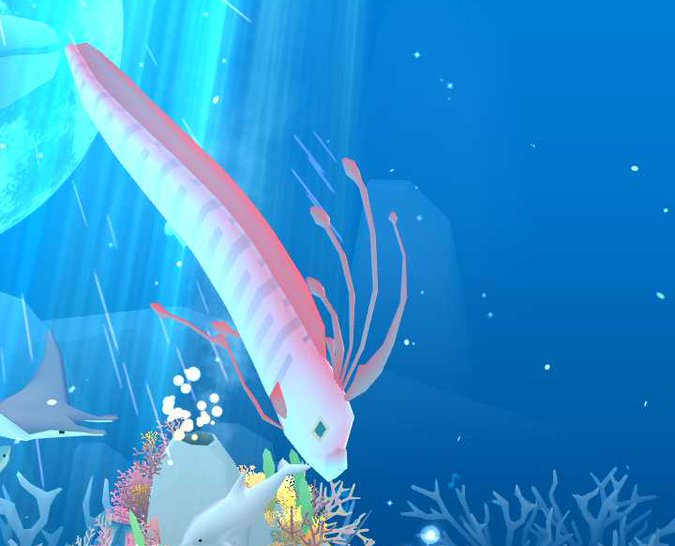 Oarfish abyssrium wikia fandom powered by wikia for Abyssrium hidden fish guide