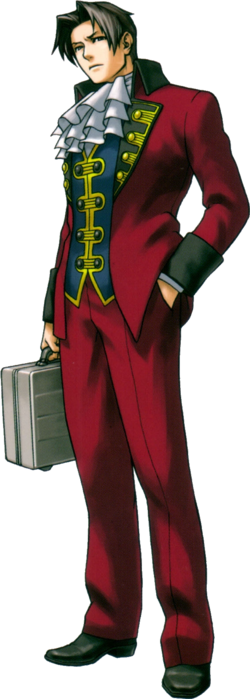 Rookie Edgeworth