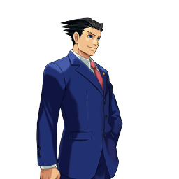 File:PXZ2 Phoenix Wright (full) - smiling (right).png