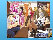 Gyakuten Saiban WiiWare - wallpaper 2