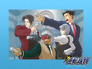 Gyakuten Saiban WiiWare - wallpaper 4