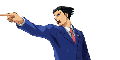 File:PXZ2 Phoenix Wright (zoom) - objecting (left).png