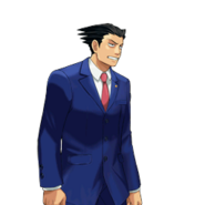 PXZ2 Phoenix Wright (full) - exasperated (right)