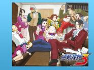 Gyakuten Saiban WiiWare - wallpaper 3