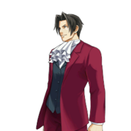 PXZ2 Miles Edgeworth (full) - smiling