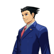 PXZ2 Phoenix Wright (zoom) - smiling (left)