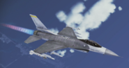 F-16C Fighting Falcon Flyby