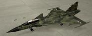 Gripen C Mercenary color hangar