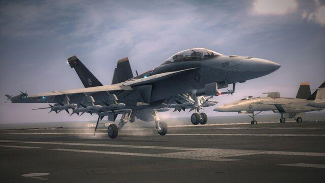 File:Super Hornet Carrier Landed AC6.jpg