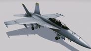 FA-18F Super Hornet Hangar