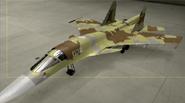 Su-34 Soldier color hangar