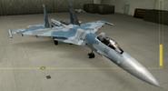 Su-37 Soldier color hangar