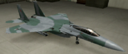 F-15C Knight color hangar