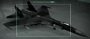 Su-27 Razgriz color Hangar