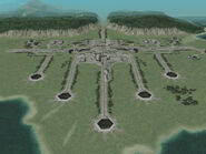Neucom launch site in Comona Islands