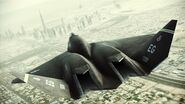 YF-23 Assault Horizon Color 3 Flyby 3