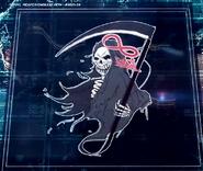 Reaper Emblem With Ribbon