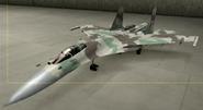 Su-37 Knight color hangar